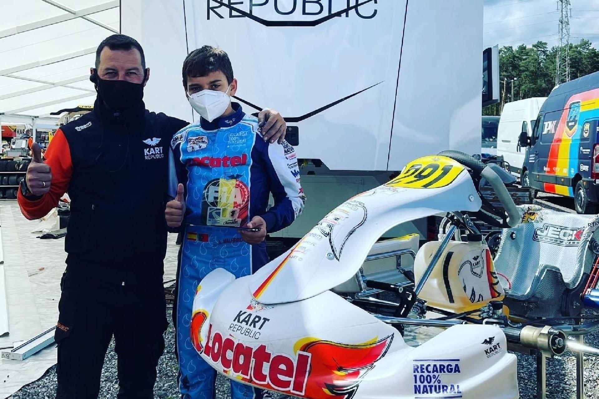 Adrián Malheiro garante excelente 12.º lugar no Campeonato Europeu FIA OK-J em Genk
