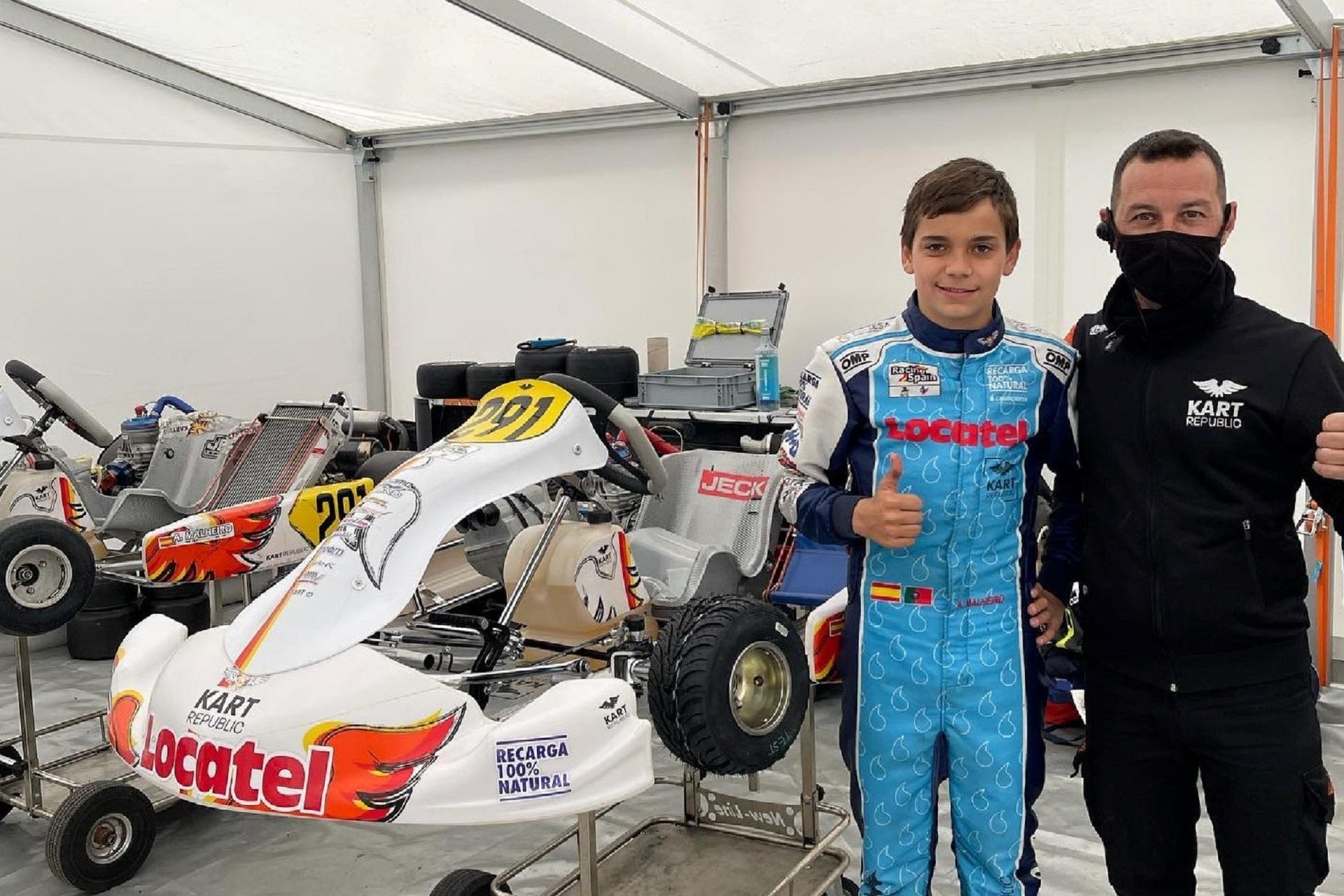 Adriàn Malheiro garante mais um positivo 16.º lugar no Europeu FIA OK-J em França