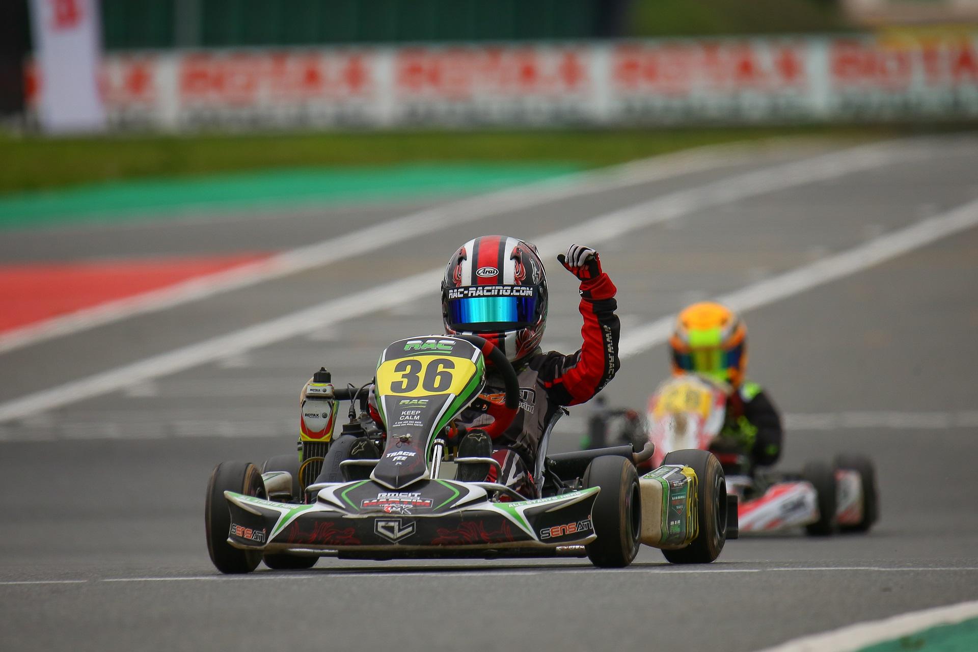 Martim Marques 7.º classificado na Final do Rotax International Trophy Micro-Max