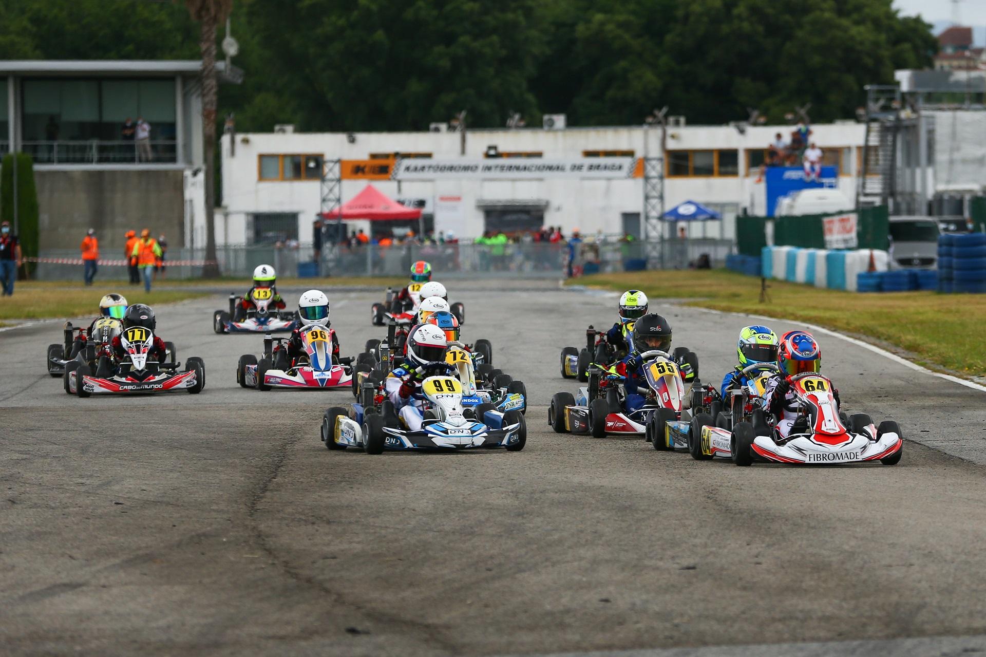 João Barros volta a vencer em Braga para o Troféu Rotax da categoria Micro-Max