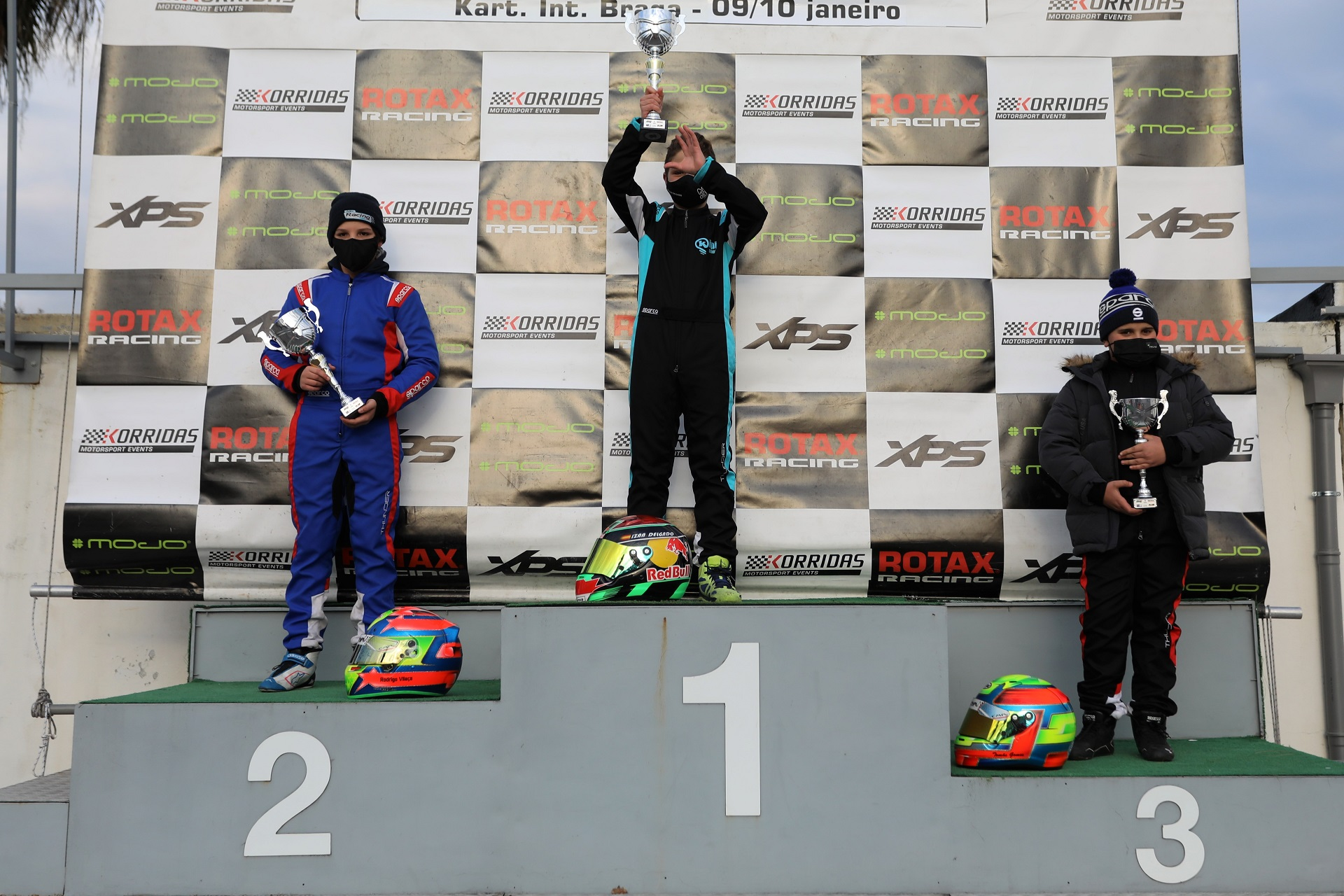 Izan Lozano ganha na Mini-Max em Braga e Rodrigo Vilaça fica muito próximo do título