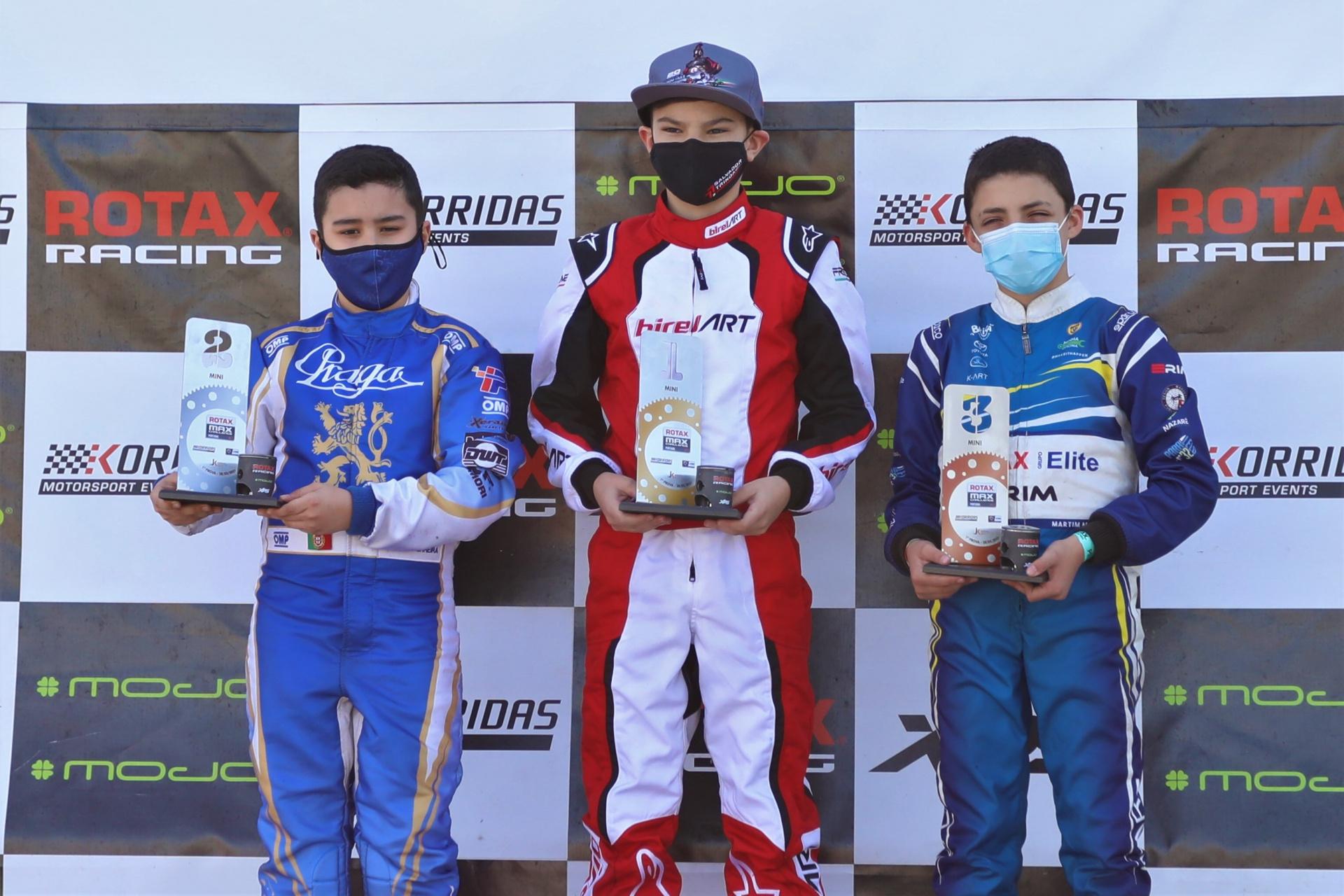 Regresso triunfal de Salvador Trindade no Troféu Rotax da categoria Mini-Max