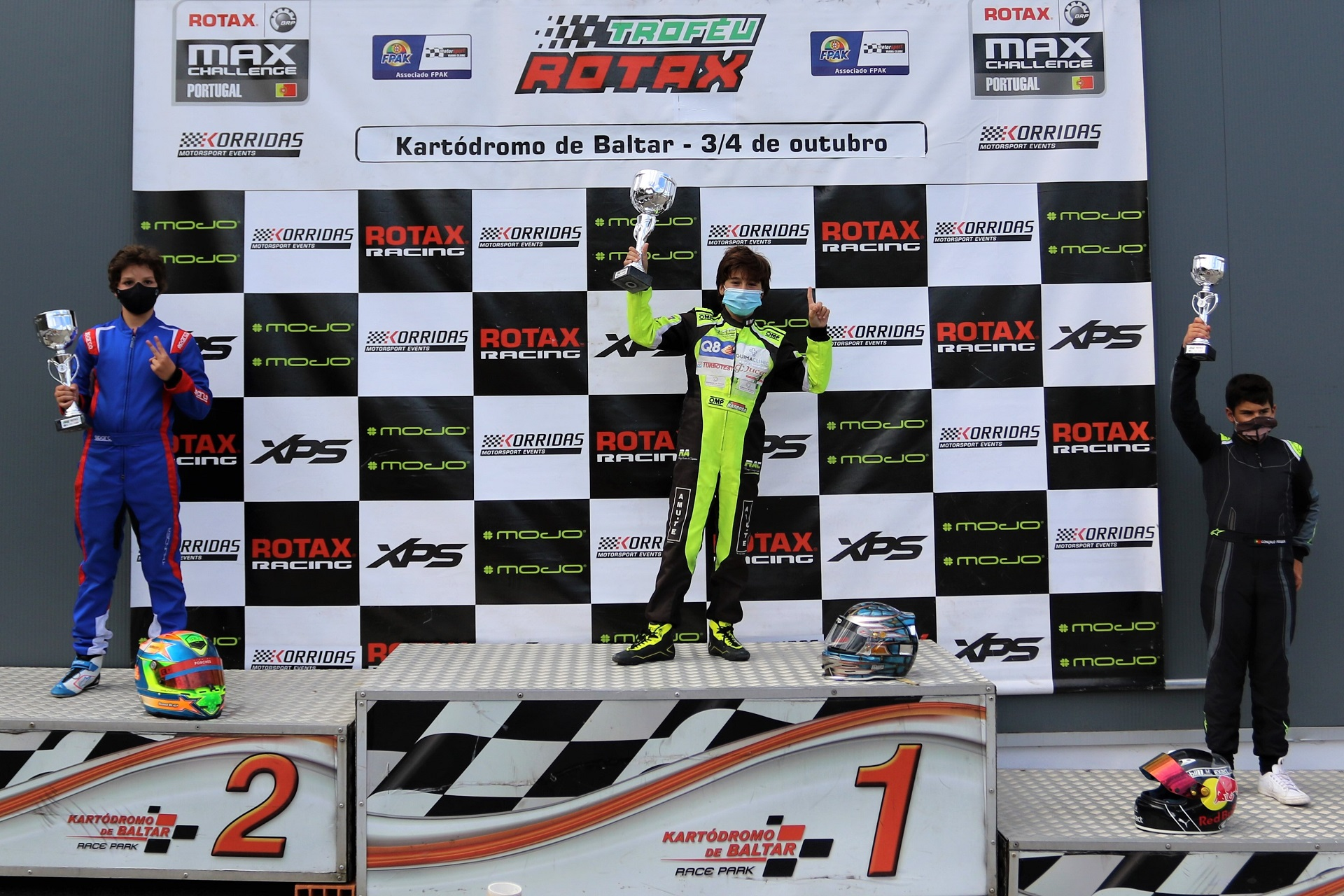 Pedro Barbosa soma primeira vitória no Troféu Rotax da Mini-Max em Baltar