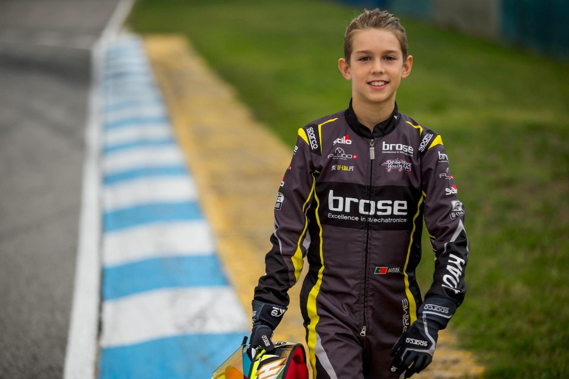 Noah Monteiro vai ser o representante português no Troféu FIA Karting Academy 2021