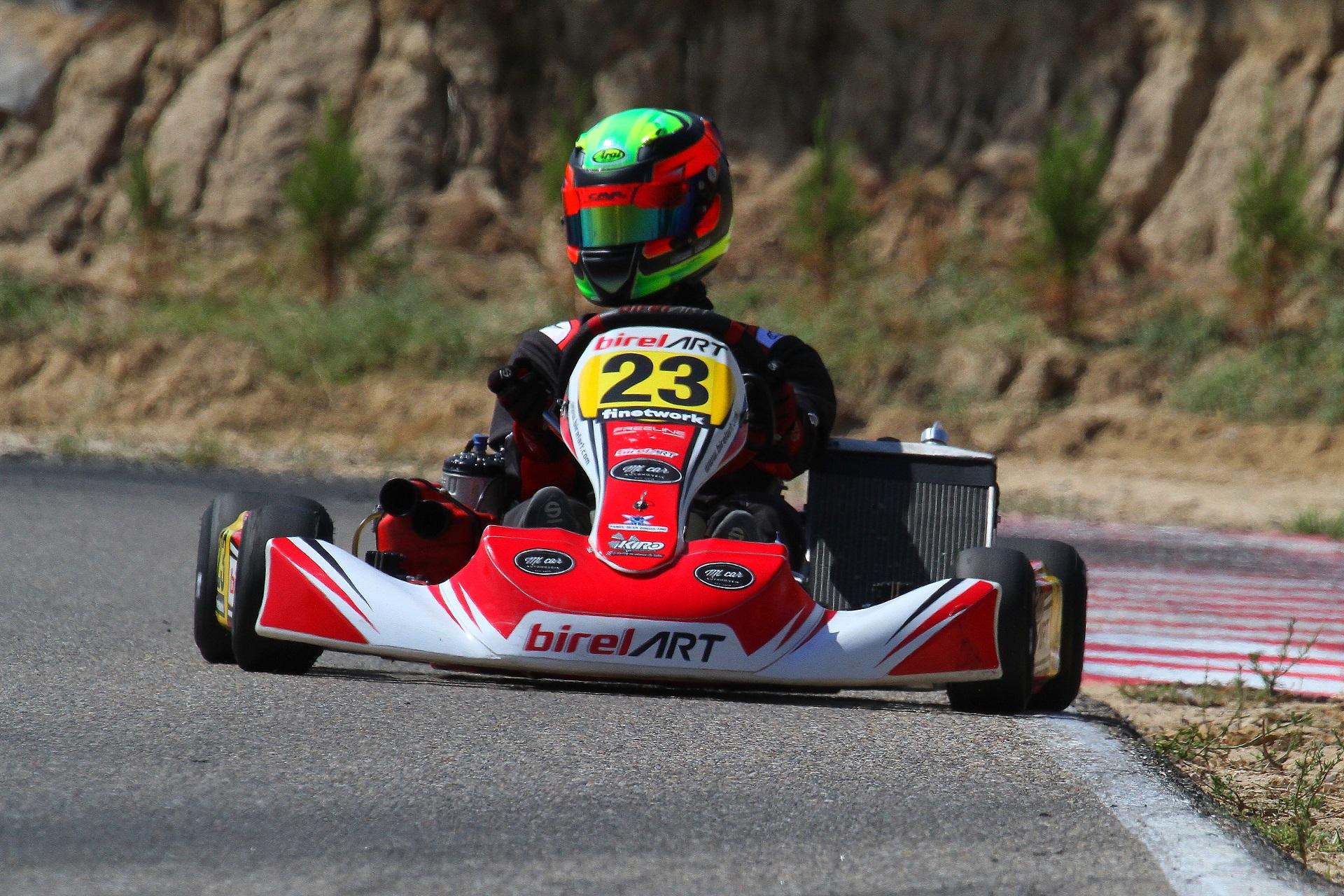Ricardo Borges volta a garantir mais um pódio no Campeonato de Espanha na KZ