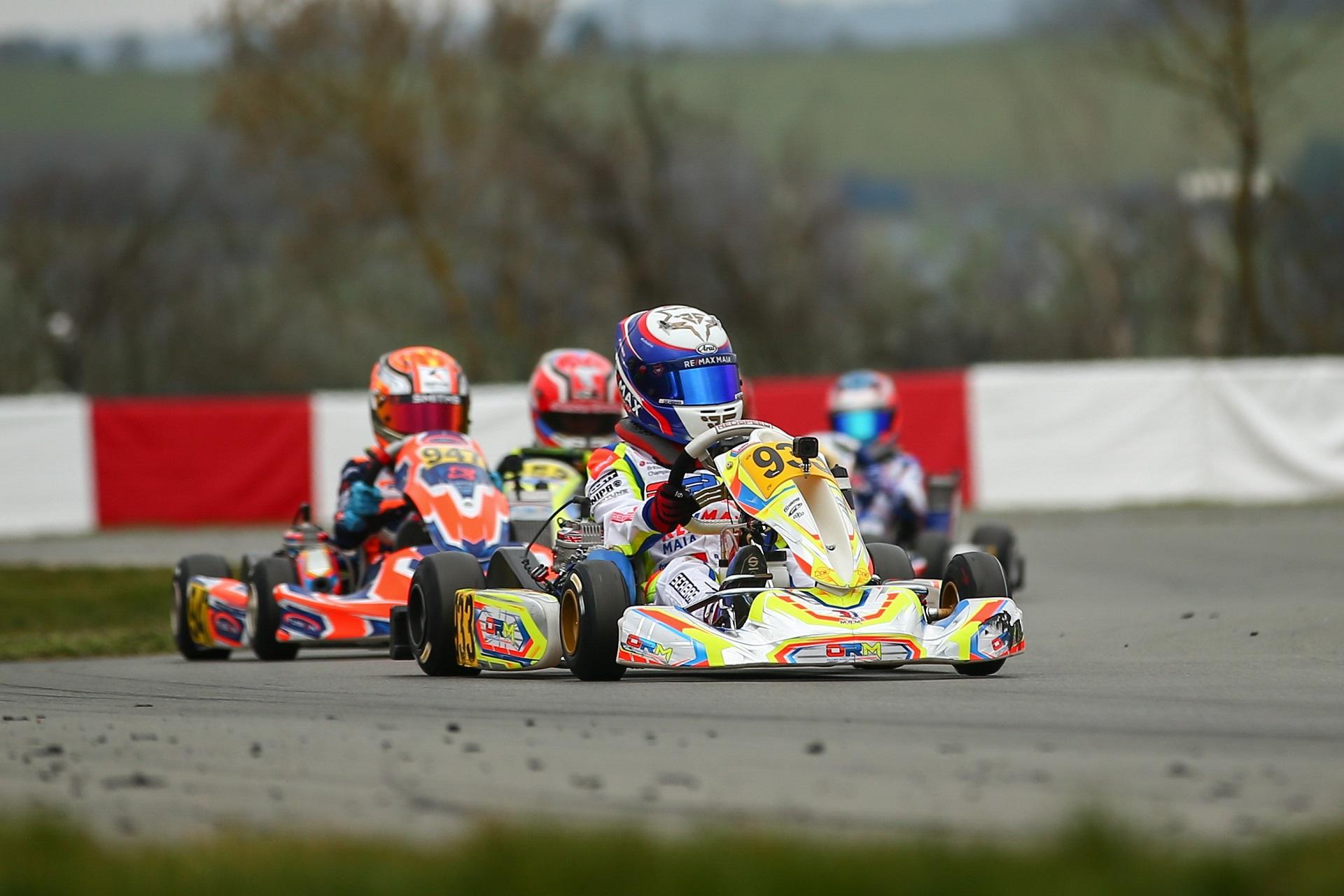 Rodrigo Seabra foi hoje o 9.º mais rápido no arranque da IAME Euro Series na Bélgica