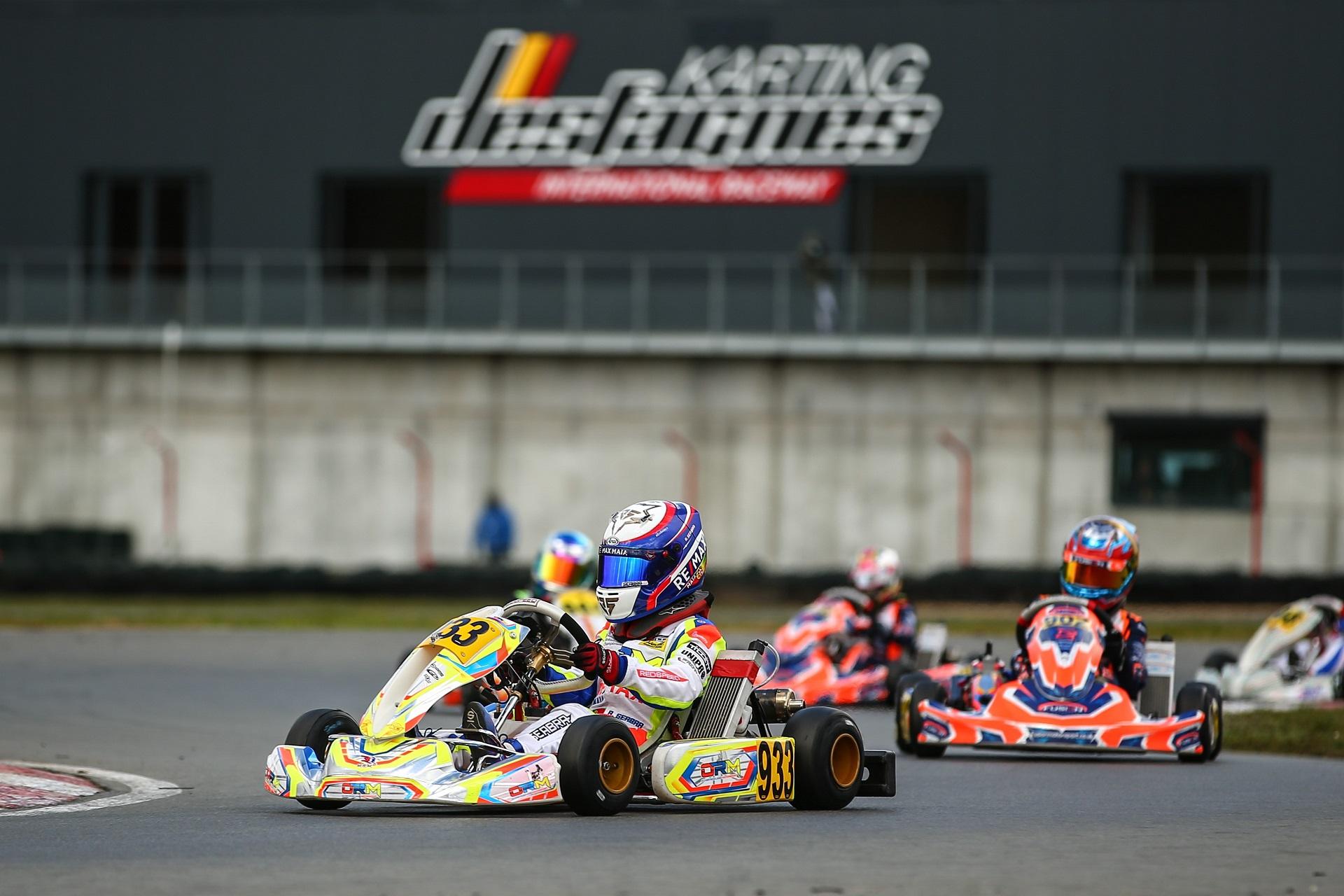 Rodrigo Seabra no top-10 da categoria X30 Mini na 1.ª prova da IAME Euro Series