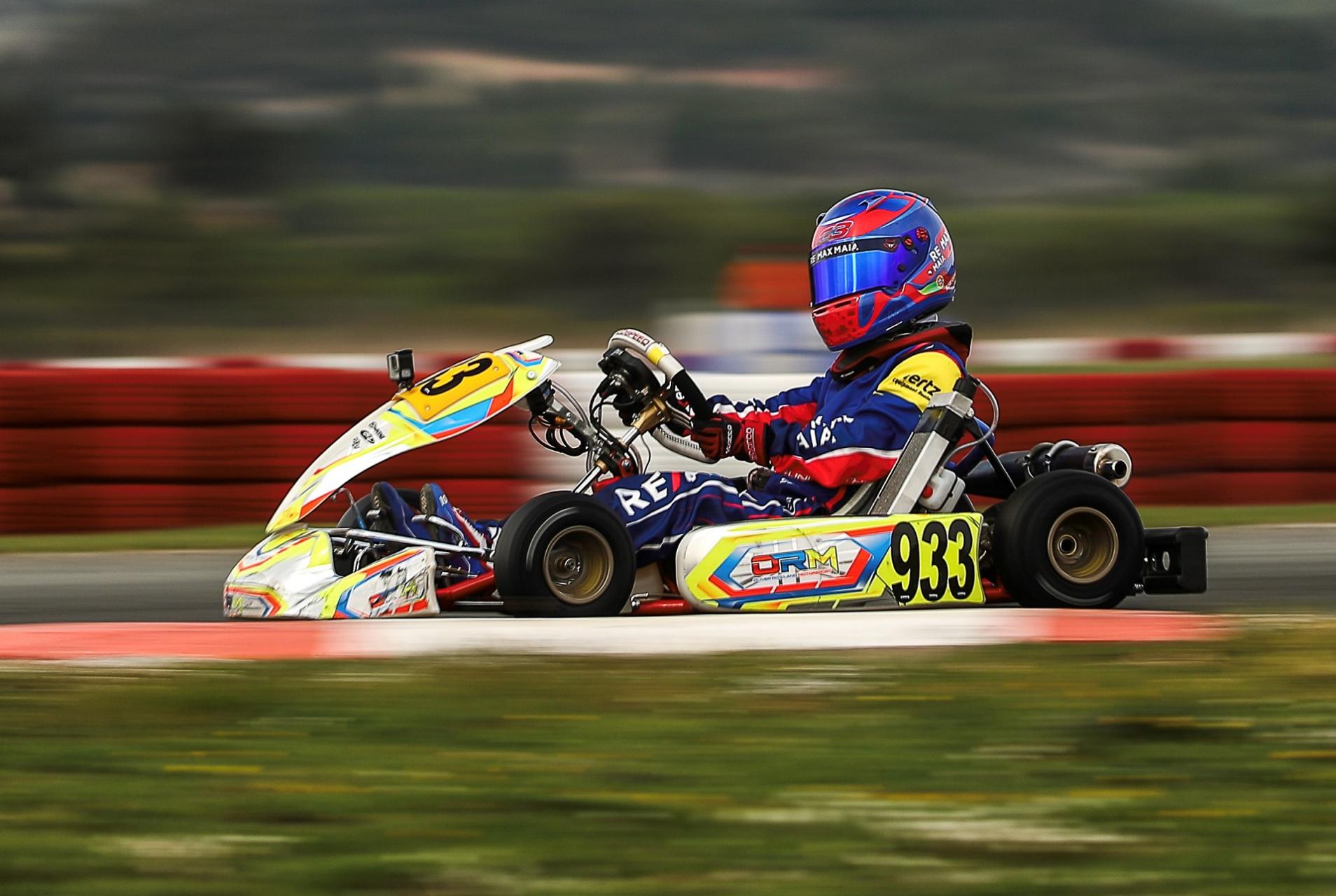 Rodrigo Seabra 9.º classificado na categoria X30 Mini da Iame Winter Cup 2021