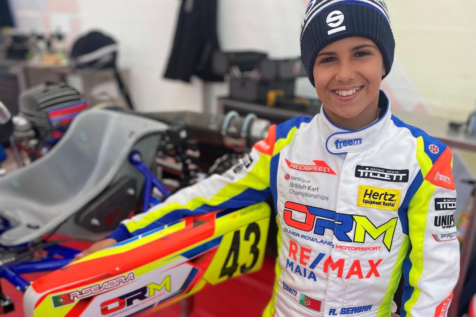 Rodrigo Seabra notabiliza-se no campeonato britânico de Karting