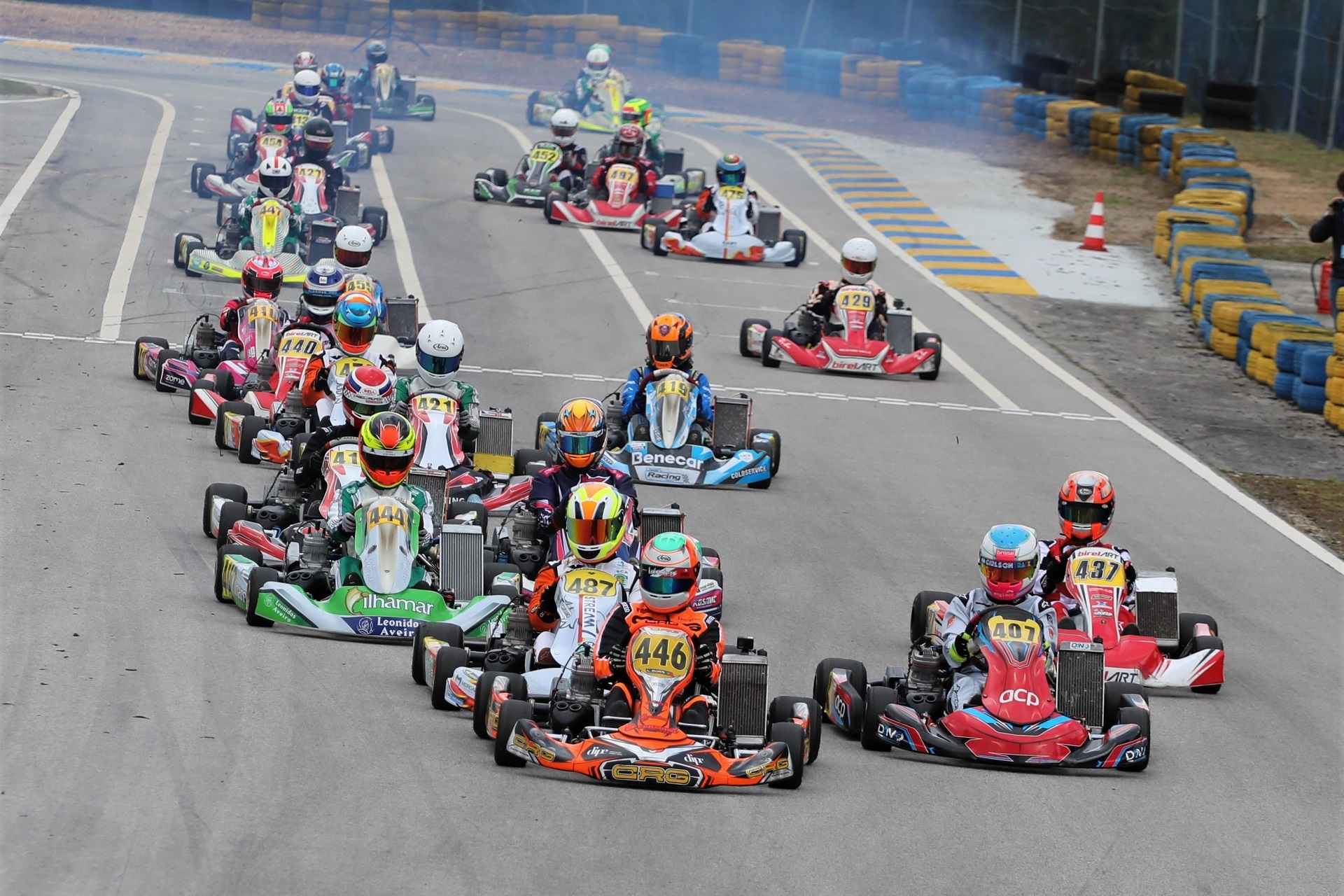 Campeonato de Portugal de Karting KIA prossegue em Baltar com 84 inscritos