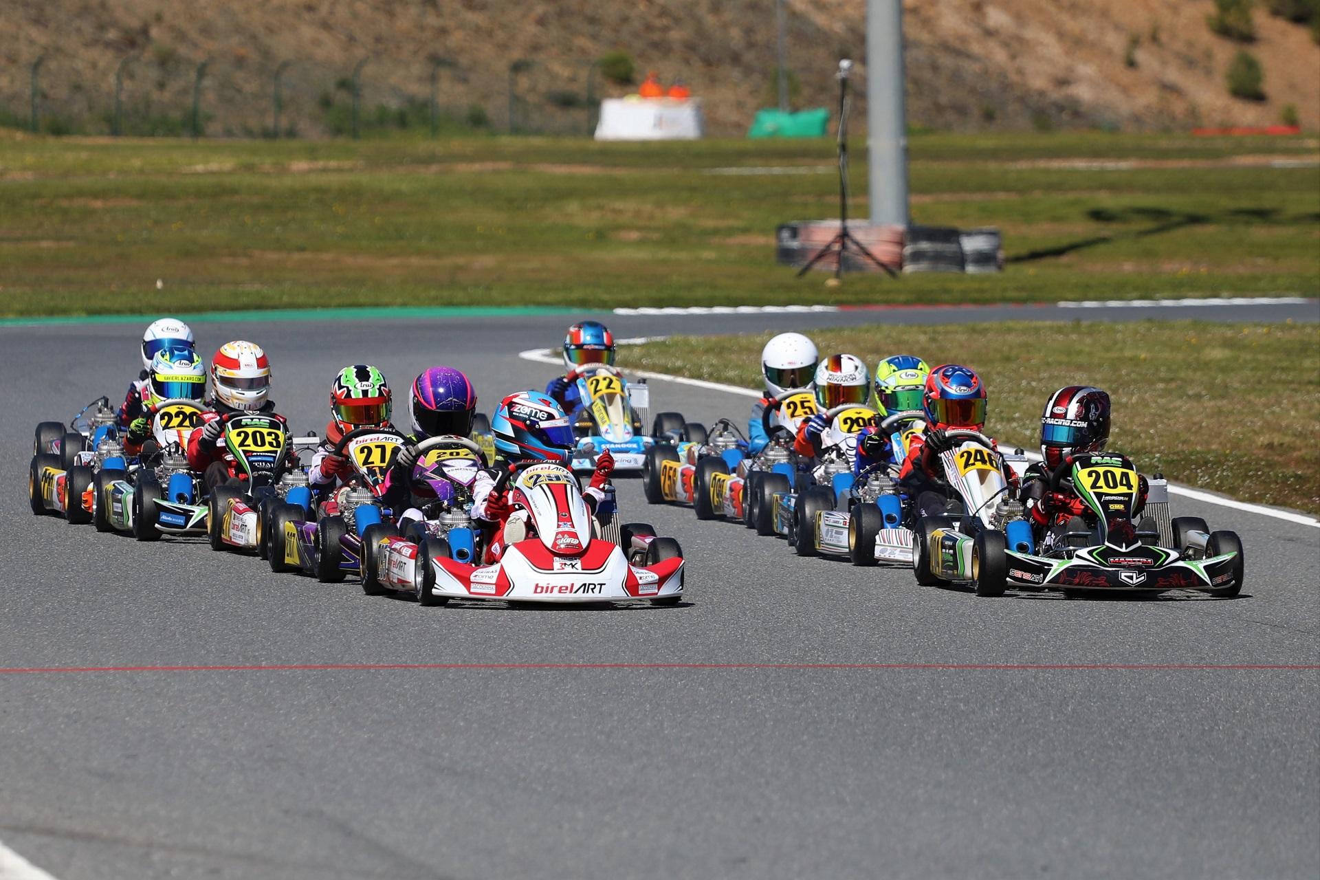 Gustavo da Silva dominador na Taça de Portugal de Karting da categoria X30 Mini