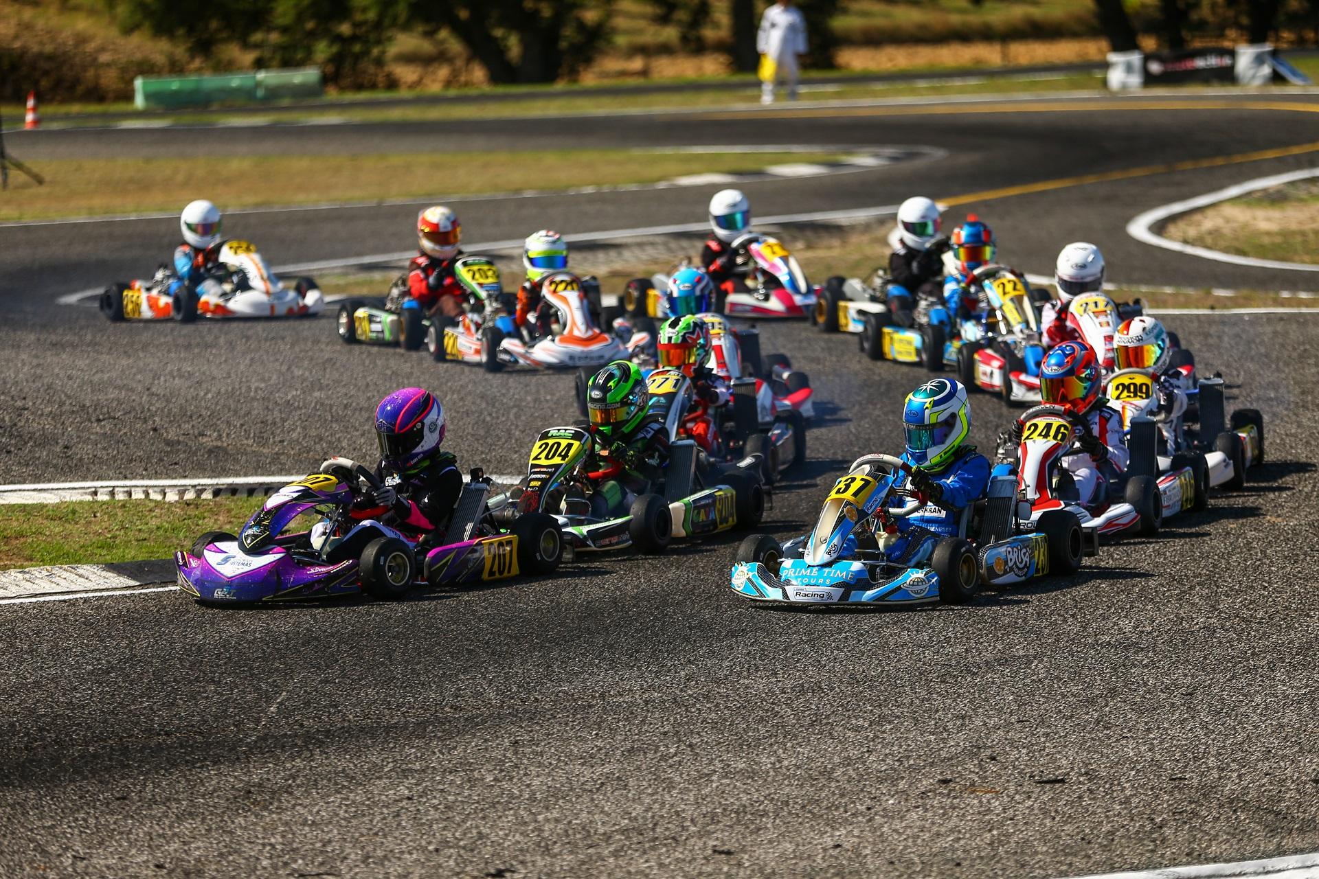 Martim Meneses volta a vencer no CPK da categoria X30 Mini no Bombarral